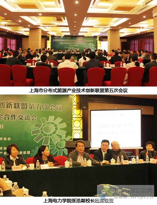 上海市分布式能源产业技术创新联盟第五次会议1~