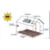 太阳能采暖系统太阳能采暖系统是指以太阳能作为采暖系统的热源,利用太阳能集热器将太阳能转换成热能,供给建筑物冬季采暖和全年其他