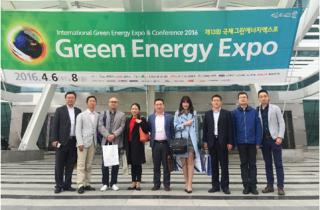 节能金钥匙企业赴韩开展绿色能源对接行