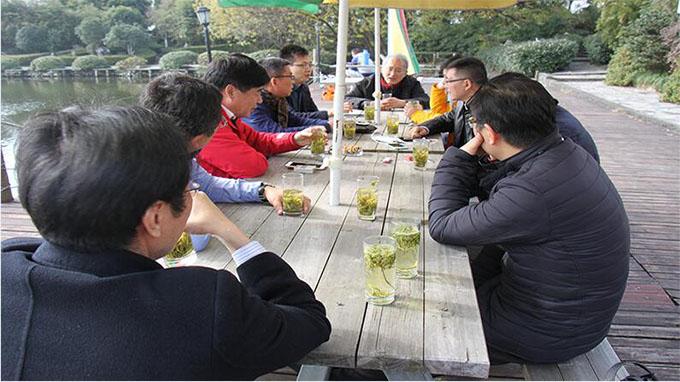 上海市节能工程技术协会湖州考察