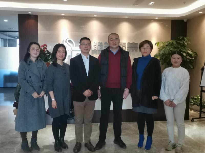 上海市节能工程技术协会走访会员企业2