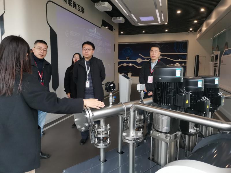 上海市节能工程技术协会走访会员企业6